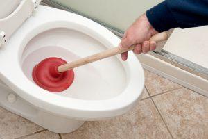WC verstopt Amstelveen
